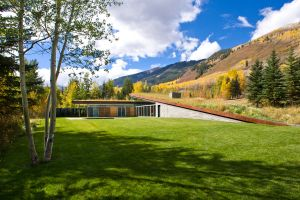 landscape house architecture modern