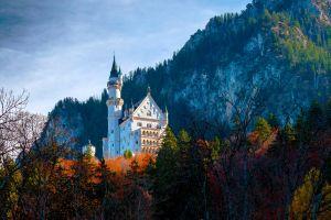 landscape neuschwanstein castle schloss neuschwanstein