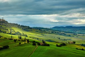 landscape outdoors italy field