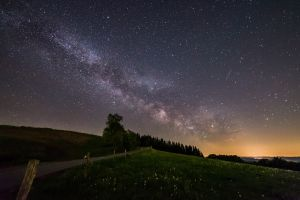 landscape stars space