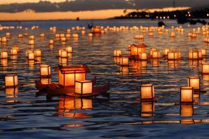 lantern lantern festival lake