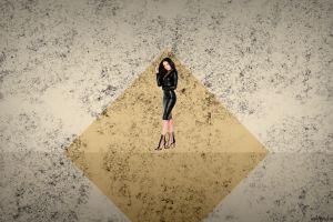 leather women minimalism