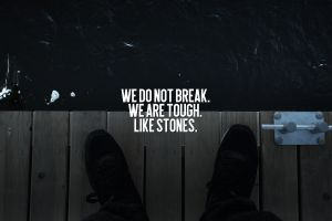 legs shoes water quote rooftopping text typography wood flooring matrizen design digital art pier motivational