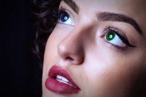 lipstick eyes women face