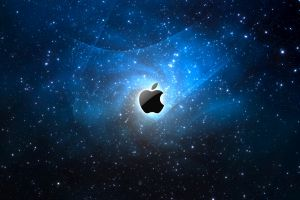 logo stars apple inc. digital art
