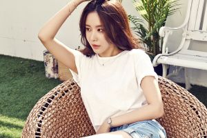 long hair photography face portrait asian women chair model arms up