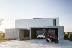 luxury homes garage modern architecture house car mansions