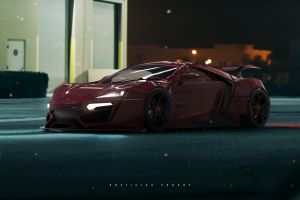 lykan hypersport rostislav prokop car vehicle
