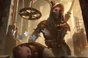 magic warrior fantasy art
