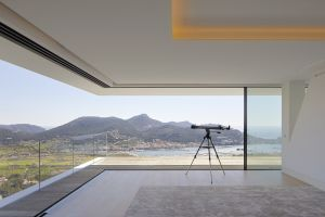 mansions house architecture modern luxury top view
