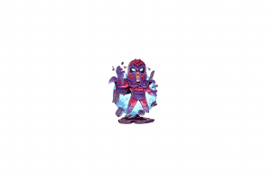 marvel comics chibi minimalism superhero marvel heroes x-men derek laufman marvel super heroes super villain magneto