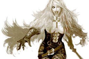masateru  fantasy girl fantasy art women