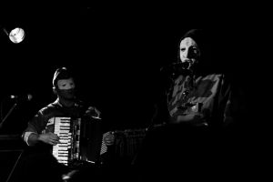 mask monochrome musical instrument