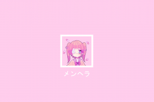 menhera-chan yami kawaii simple background menhera-chan