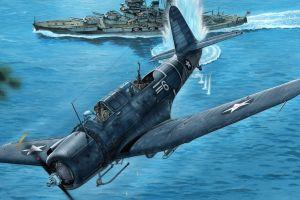 military aircraft ship vehicle artwork aircraft war