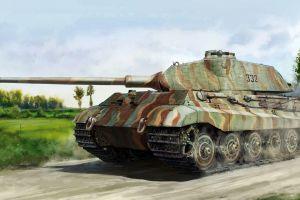 military tank artwork wehrmacht vehicle