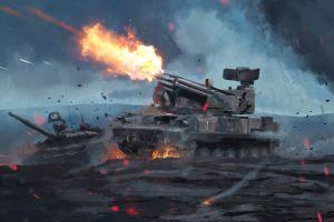 military weapon war battle artwork