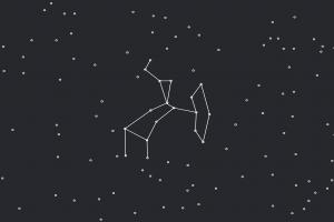 minimalism constellations stars line art minimalism