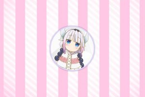miss kobayashi's dragon maid picture-in-picture lines kanna kamui (kobayashi-san chi no maid dragon)