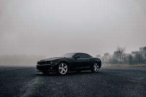 mist camaro car black cars vehicle black chevrolet chevrolet camaro