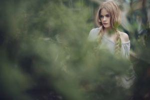 model anastasia vervueren blonde women