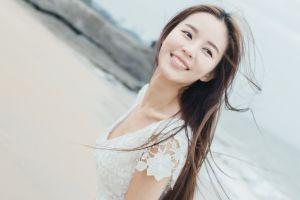 model asian long hair photography women