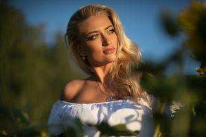 model karina tikhonovskaya women dmitry shulgin lisa (model) blonde