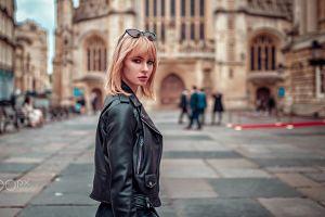 model portrait oliver gibbs women outdoors women urban