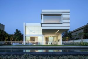 modern house architecture swimming pool