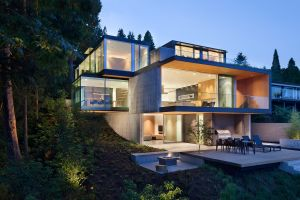 modern house mansions architecture