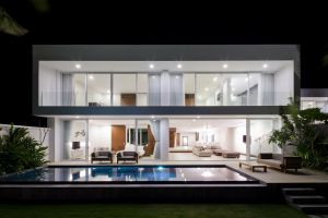modern mansions architecture interior house swimming pool luxury