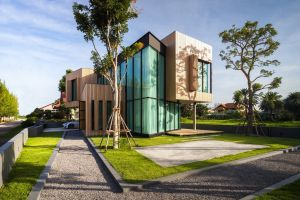 modern mansions house architecture