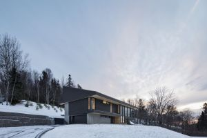 modern snow house architecture