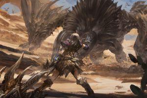 monster hunter: world video game art monster hunter video games dragon