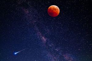 moon sky space art space