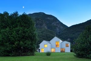 mountains house modern architecture