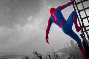 movies marvel cinematic universe spider-man homecoming (movie) superhero 2017 (year) marvel comics tom holland spider-man: homecoming spider-man spider-man: homecoming (2017)