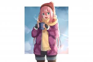 nadeshiko kagamihara yuru camp anime girls