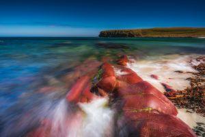 nature rock sea coast
