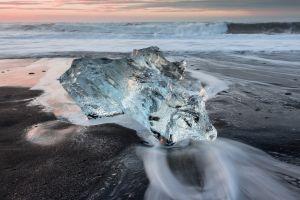 nature sea beach ice