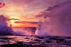 nature sea sunlight sky coast