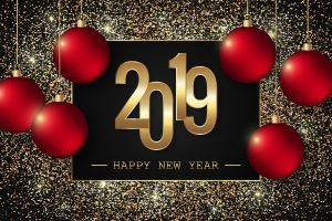 new year numbers christmas ornaments  2019 (year)
