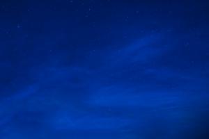 night blue stars sky