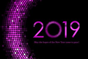 numbers happy new year 2019 (year)