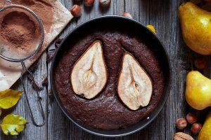 nuts food fruit cake leaves