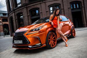 orange women with cars high heels women model numbers