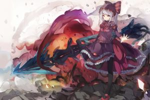 overlord (anime) anime girls red eyes shalltear anime shalltear bloodfallen  fantasy girl anime girls