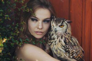 owl anastasia vervueren women model brunette