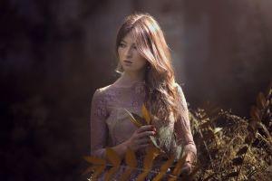 painted nails brunette juan renart women model looking away portrait women outdoors long hair