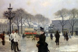 painting artwork classical art paul gustav fischer